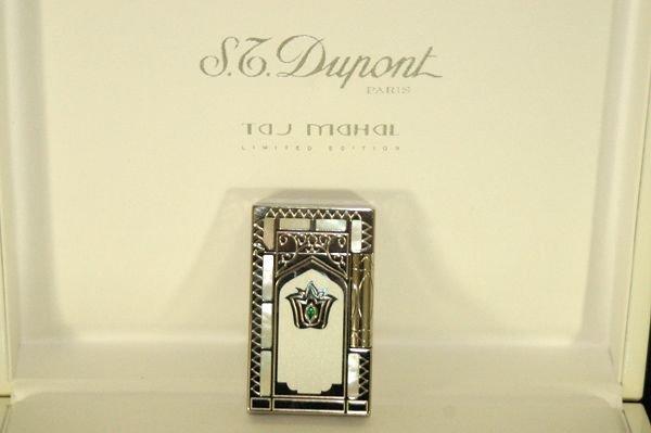 1208: S.DUPONT RARE TAJ MAHAL LIMITED ED LIGHTER W/BOX