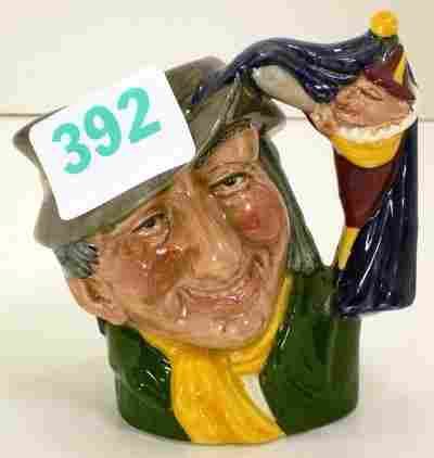 """RARE 4"""" DOULTON TOBY OF PUNCH AND JUDY MAN"""