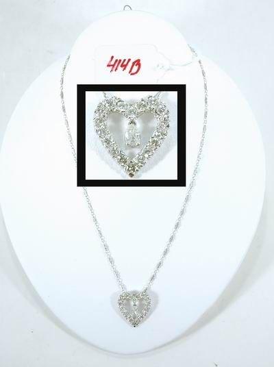 414B: BEAUTIFUL 2.00CT DIAMOND HEART