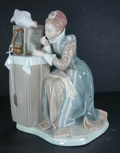 310: RARE LLADRO SUMMER STOCK FOR NORMAN ROCKWELL