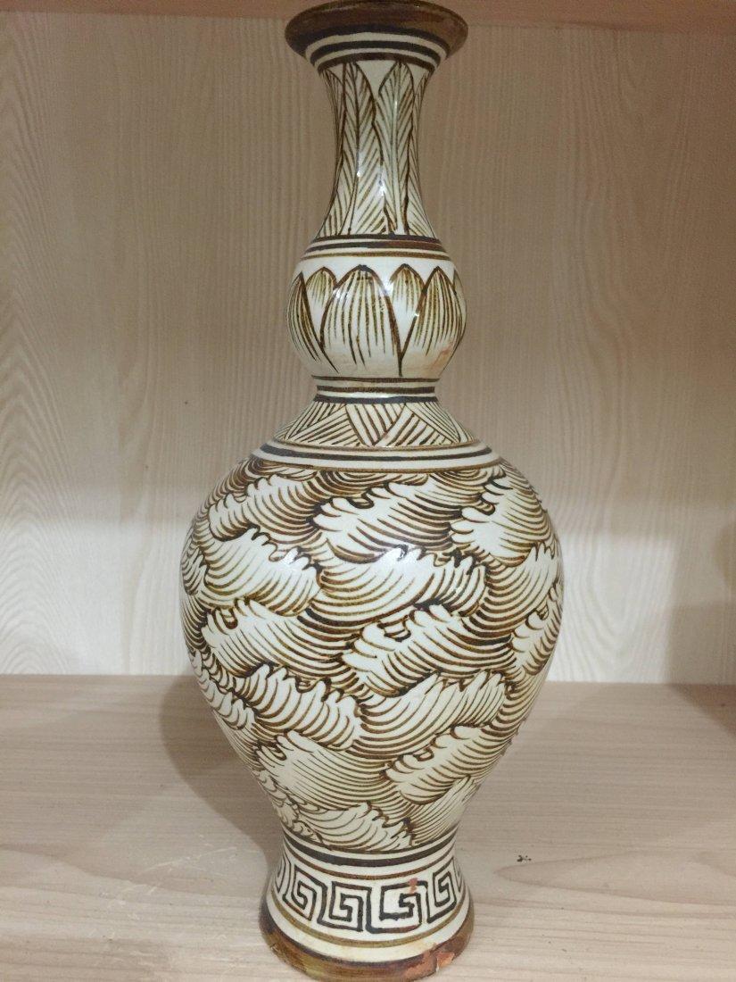 Chinese Porcelain Ji Zhou Yao Vase