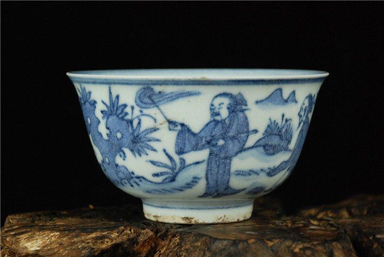 Fine Chinese Porcelain Blue & White Bowl