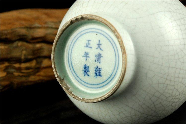 Chinese Fine Porcelain White Vase - 7