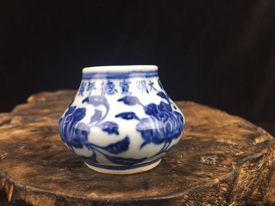 Chinese Porcelain  Blue & White Vase