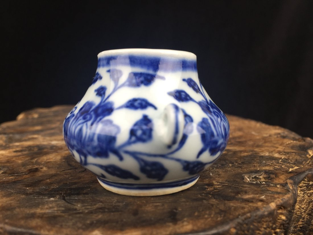 Chinese Porcelain  Blue & White Vase - 2