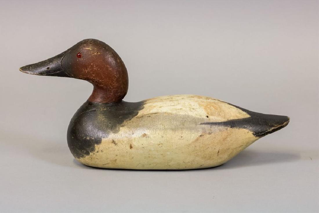 Mason Decoy Factory Canvasback Drake Duck Decoy,