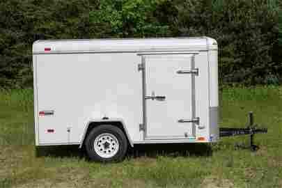 2002 KZ Kargo 6x10ft Enclosed Cargo Trailer, 2