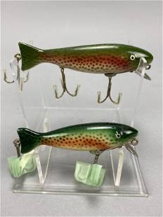 2 Paw Paw Trout Caster Fishing Lures