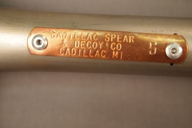 """7 Tine Fish Spear. 8"""" Wide x 57"""" Long, Cadillac Spear & - 3"""