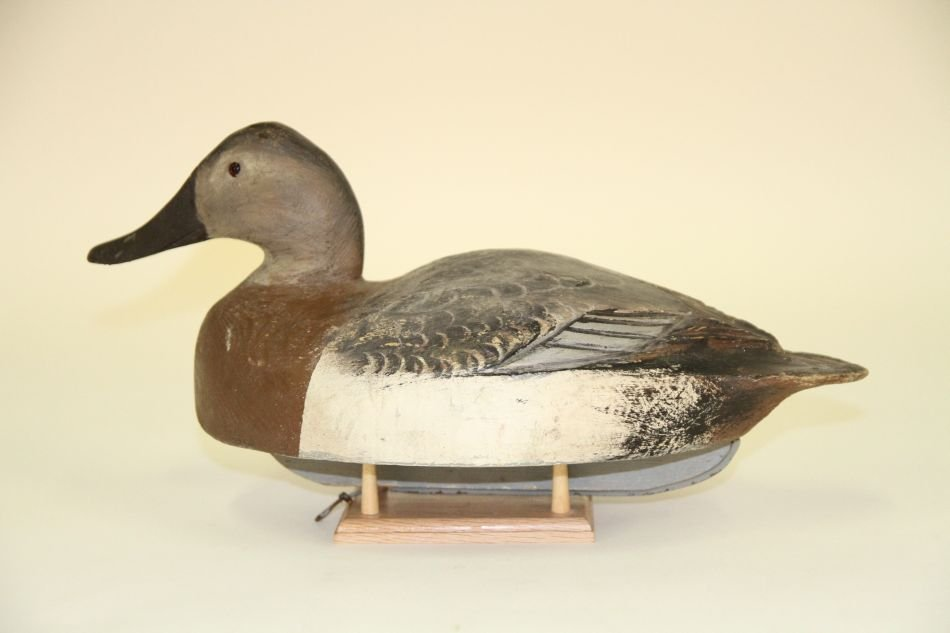 Canvasback Hen Duck Decoy by Ben Schmidt of Centerline,