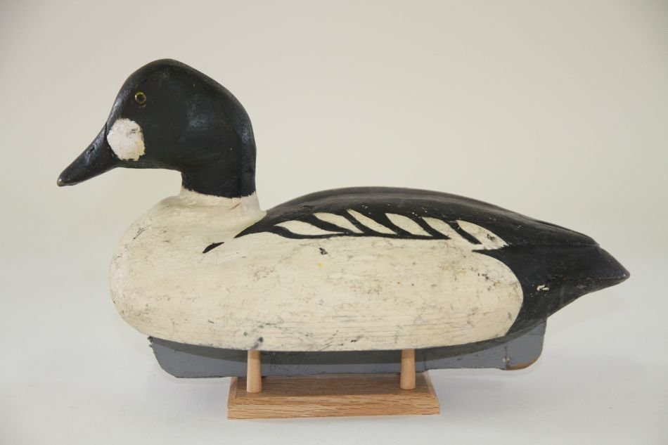 Goldeneye Drake Duck Decoy by Dr. Miles Pirnie of