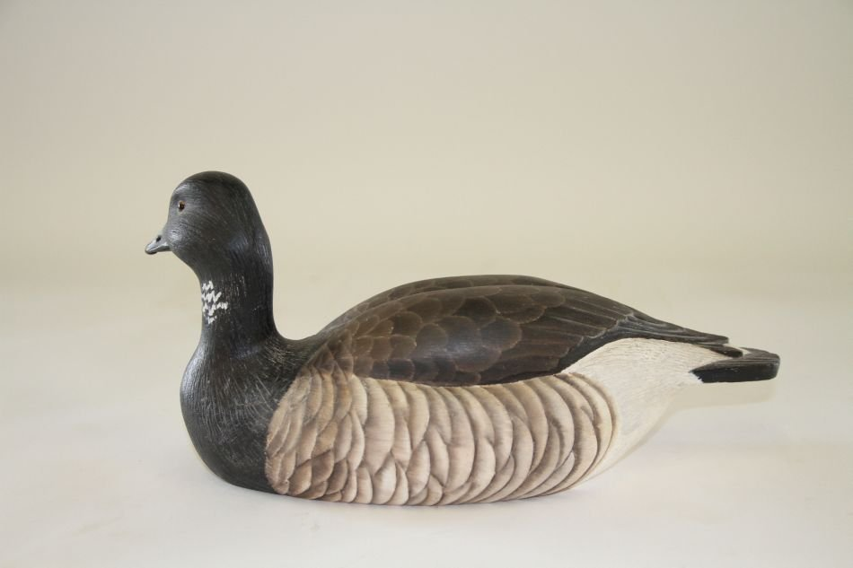 Brant Decoy by Ken Gleason of Connecticut, Hollow Body,