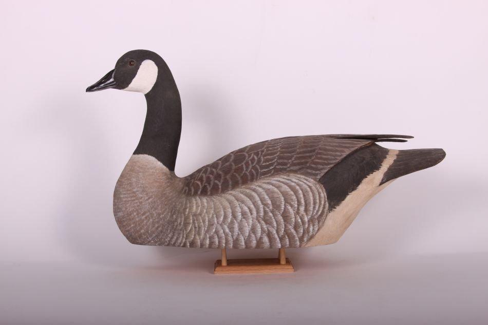 Canada Goose Decoy by Wayne Boblenz of Marion, Ohio,