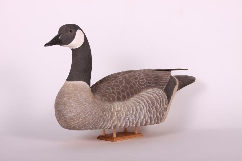 Canada Goose Decoy by Wayne Boblenz of Marion, Ohio, - 2
