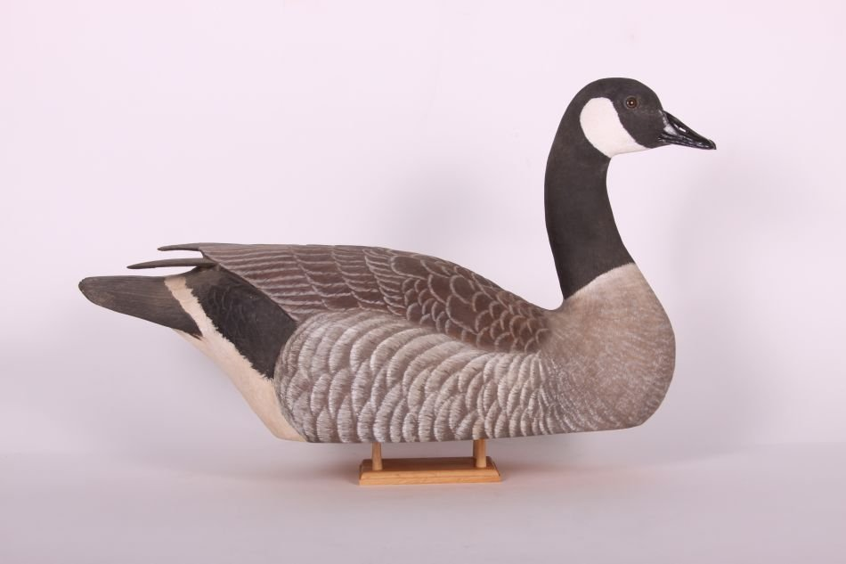 Canada Goose Decoy by Wayne Boblenz of Marion, Ohio, - 4