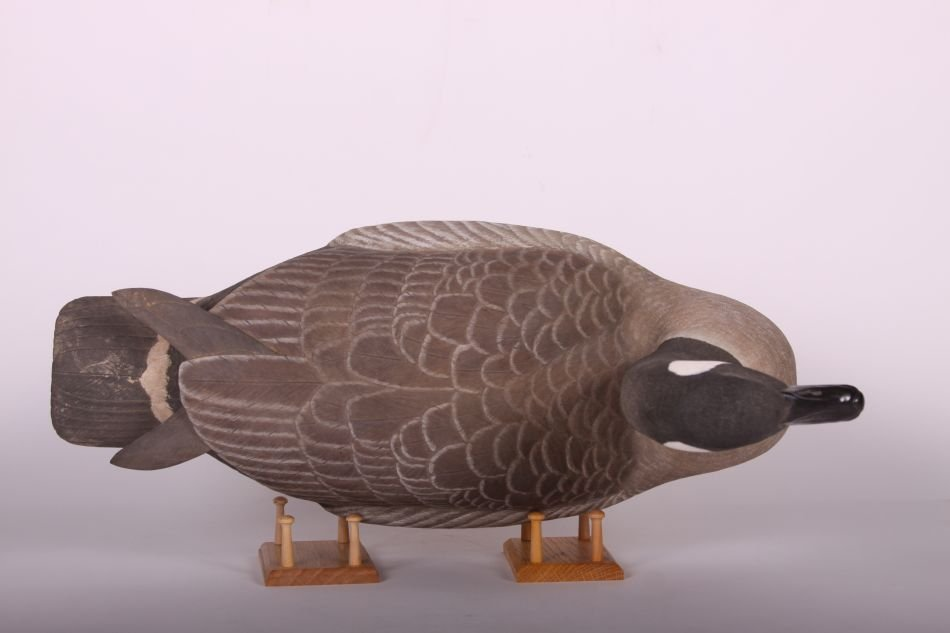 Canada Goose Decoy by Wayne Boblenz of Marion, Ohio, - 5