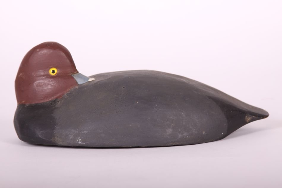 Redhead Drake Duck Decoy by Tom Humberstone of New