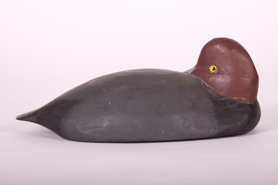 Redhead Drake Duck Decoy by Tom Humberstone of New - 4