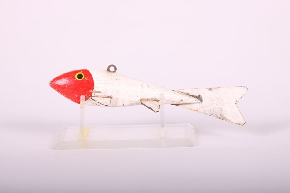 "5.5"" Fish Spearing Decoy by Henry May of Fergus Falls,"