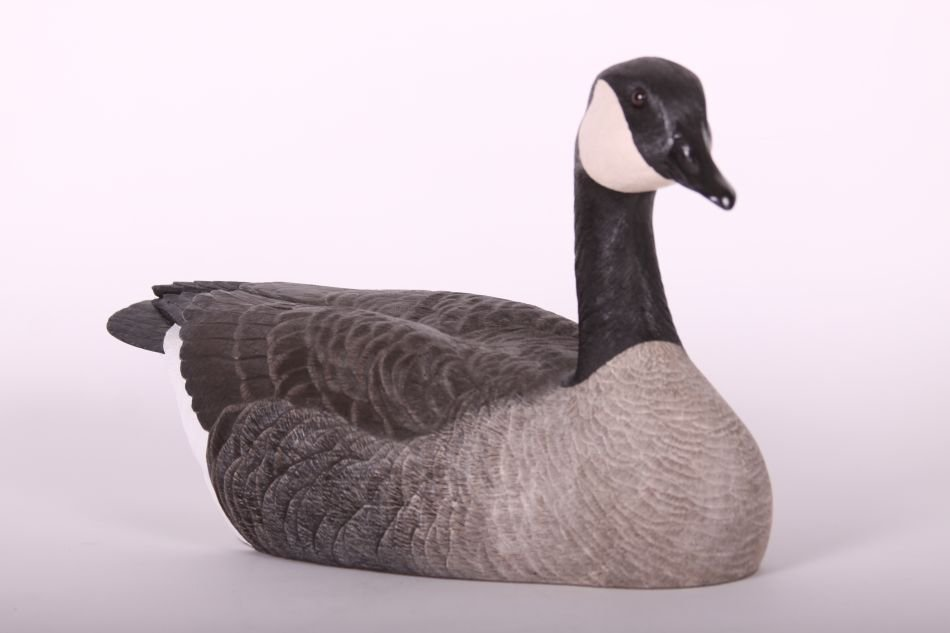 Canada Goose Decoy by Chris Tostenson, Hollow Body, - 3