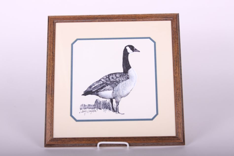 Original Artwork, Water and Felt Pen Goose by Larry
