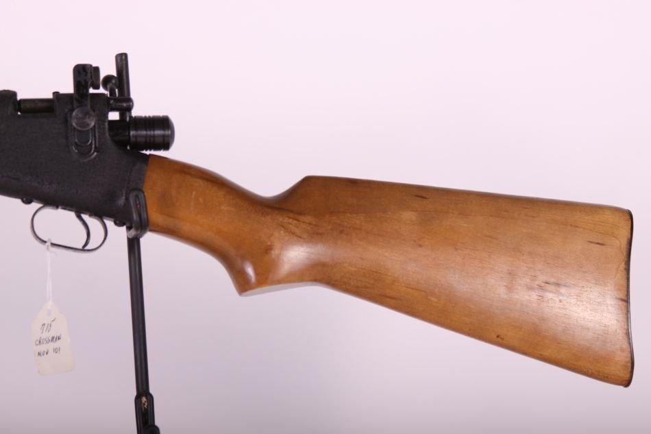 Crossman Mdl 101, Pump, Wood Stock, Patented, - 2