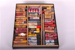 Display Case w/ 50+ BB Ammo Shot Tubes, Including