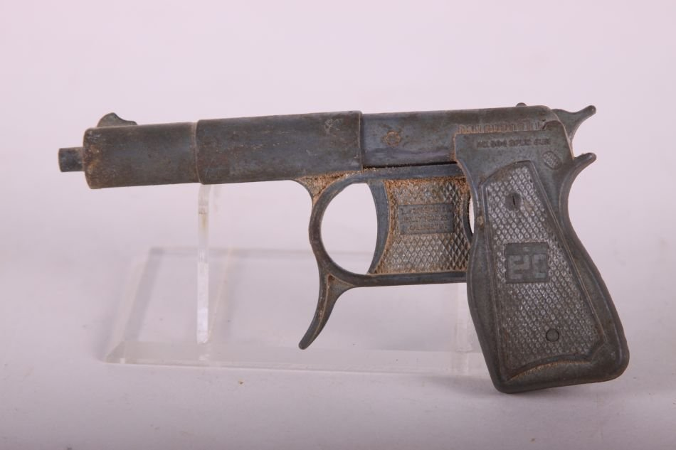 No. 504 Die Cast Spud Gun by EJ Cossman and Co.,