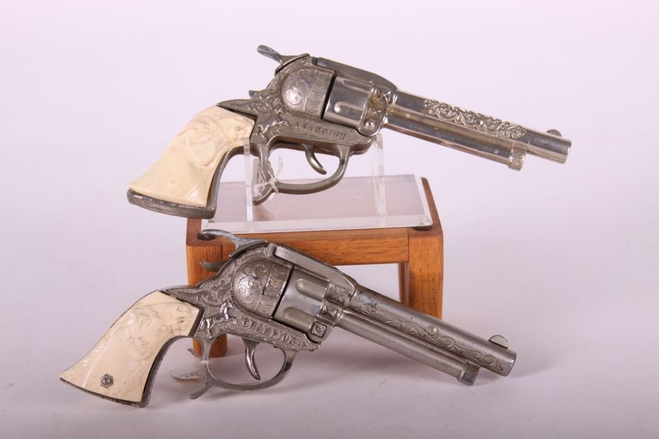 Pr. Of Leslie Henry, Die Cast, Champion Cap Guns, w/ - 2
