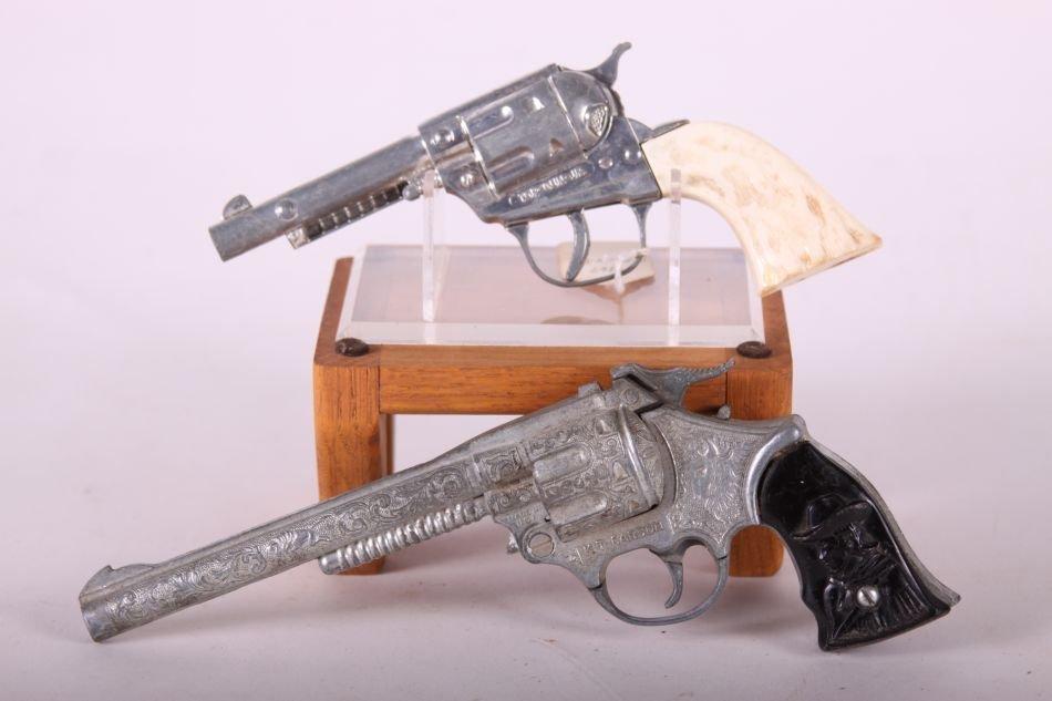 Lot of Two Cap Guns, Die Cast, One Top Gun Jr. by - 2