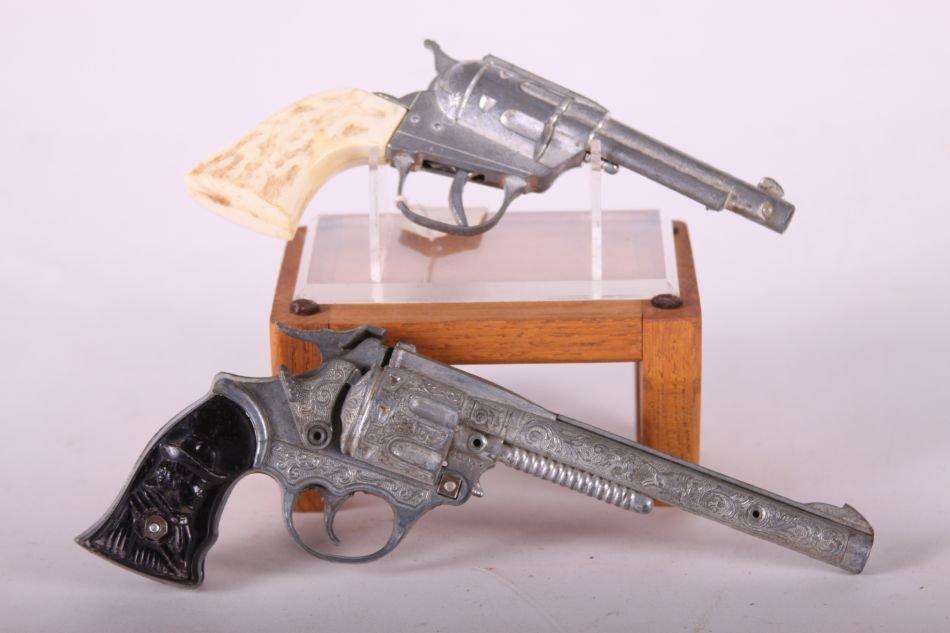 Lot of Two Cap Guns, Die Cast, One Top Gun Jr. by - 3