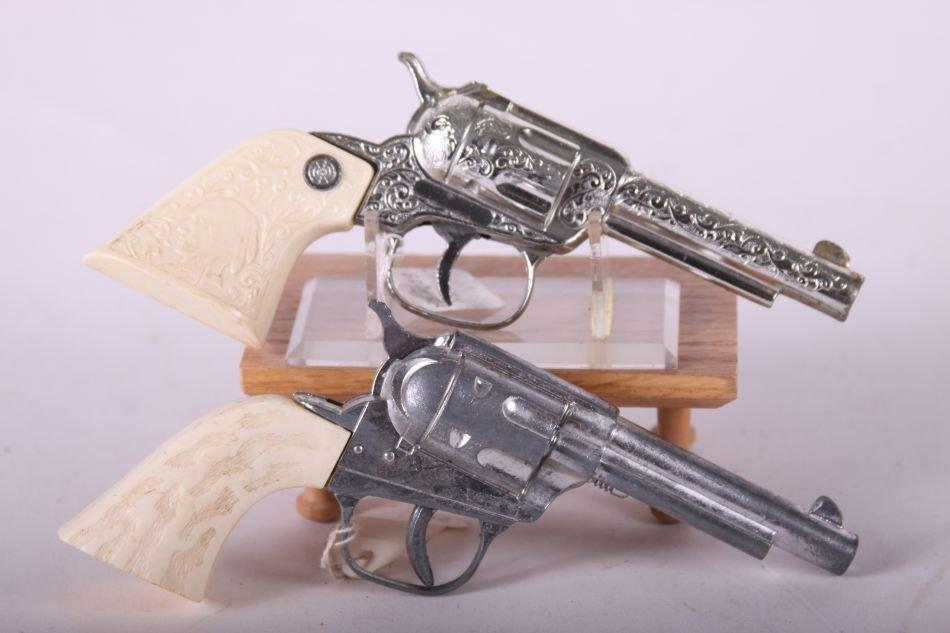 Lot of Two Cap Guns by Unknown Maker, One Top Gun Jr., - 3