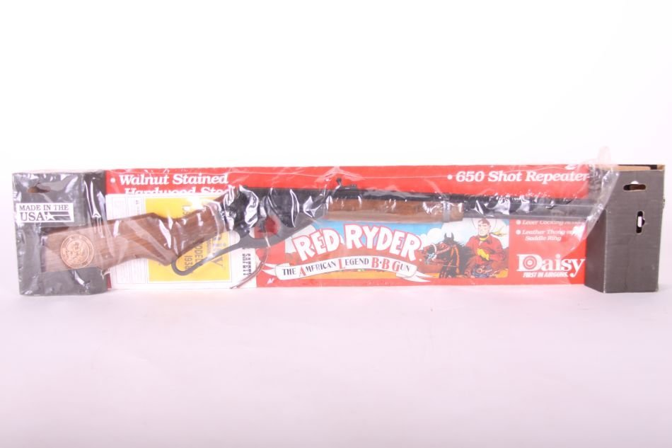 Daisy Red Ryder Walnut Stained BB Gun, Lever Action,