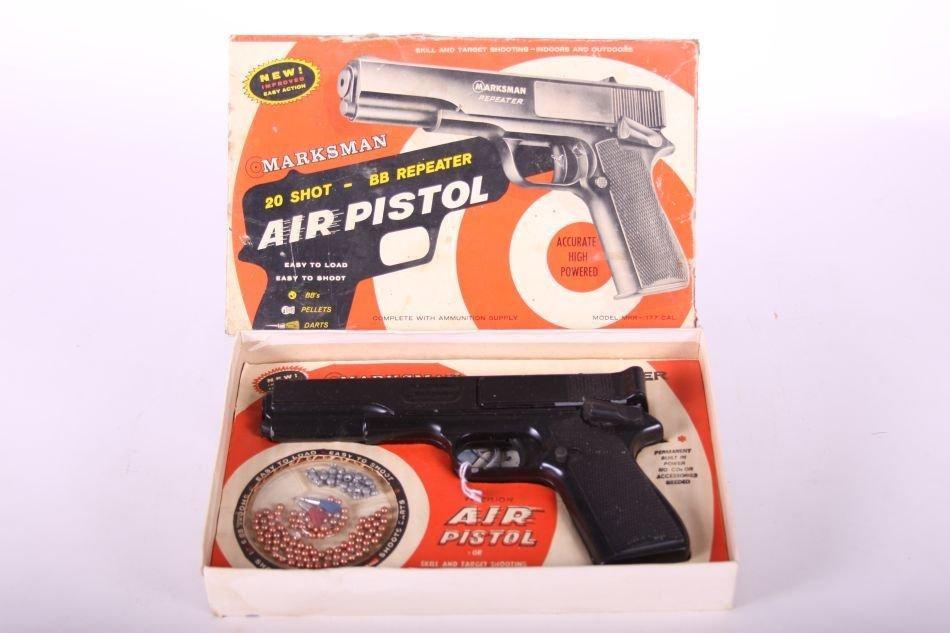 Marksman 20 Shot-BB Repeater Air Pistol, Orig. Box - 2
