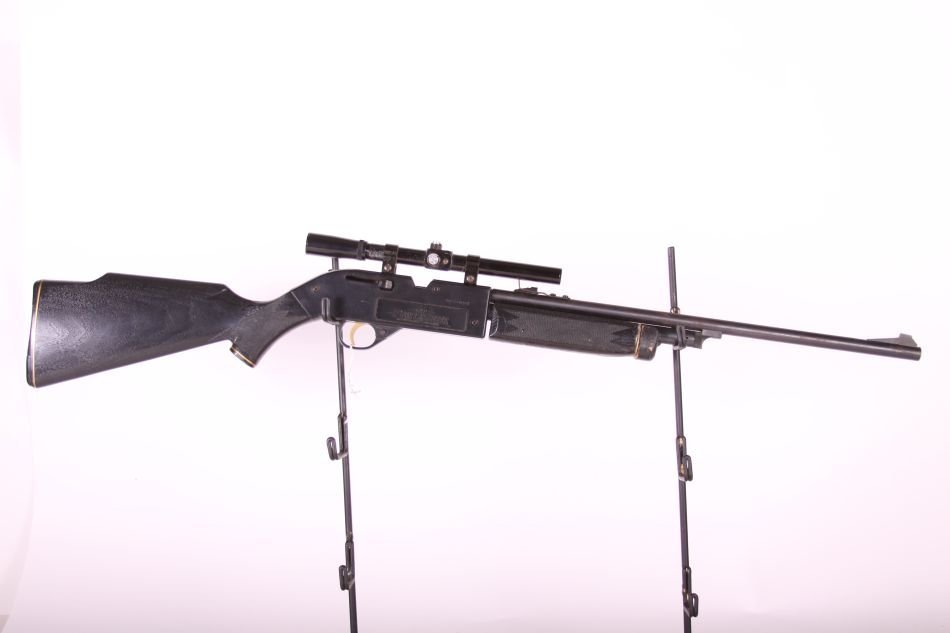 Crossman Powermaster 66 BB/Pellet Rifle, Lever Action, - 4