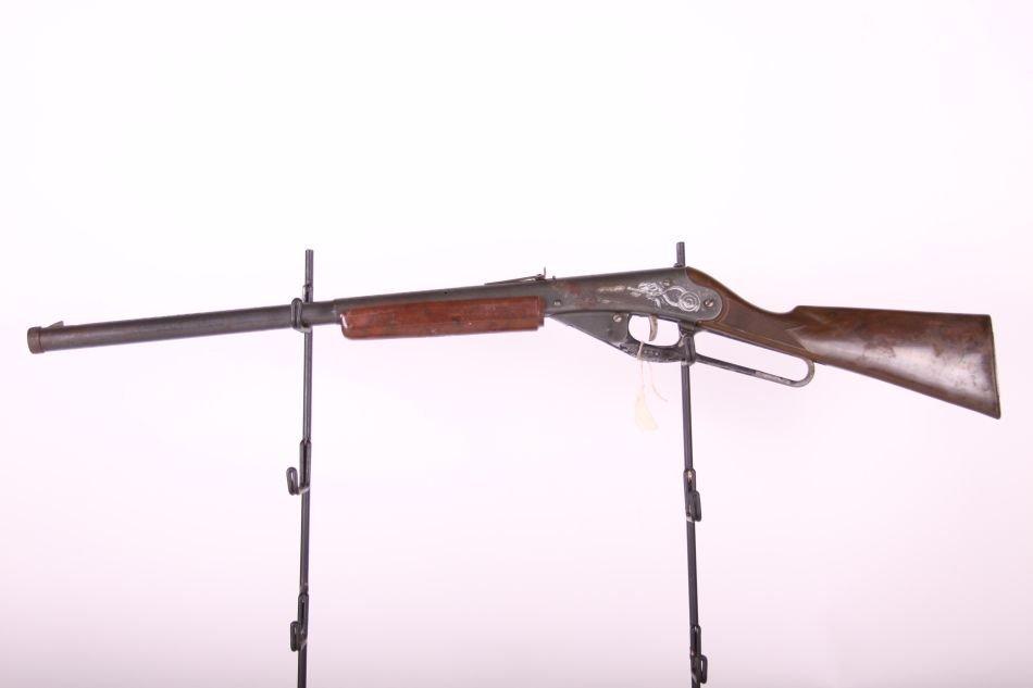 Daisy Mdl 80 Long Rifle BB Gun, Lever Action, Plastic