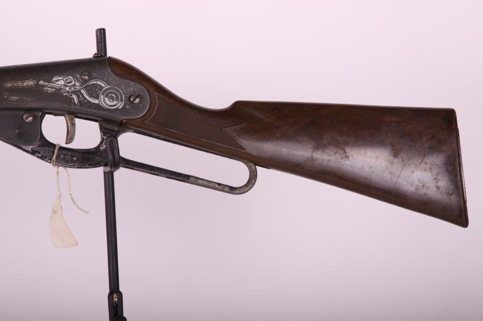 Daisy Mdl 80 Long Rifle BB Gun, Lever Action, Plastic - 2