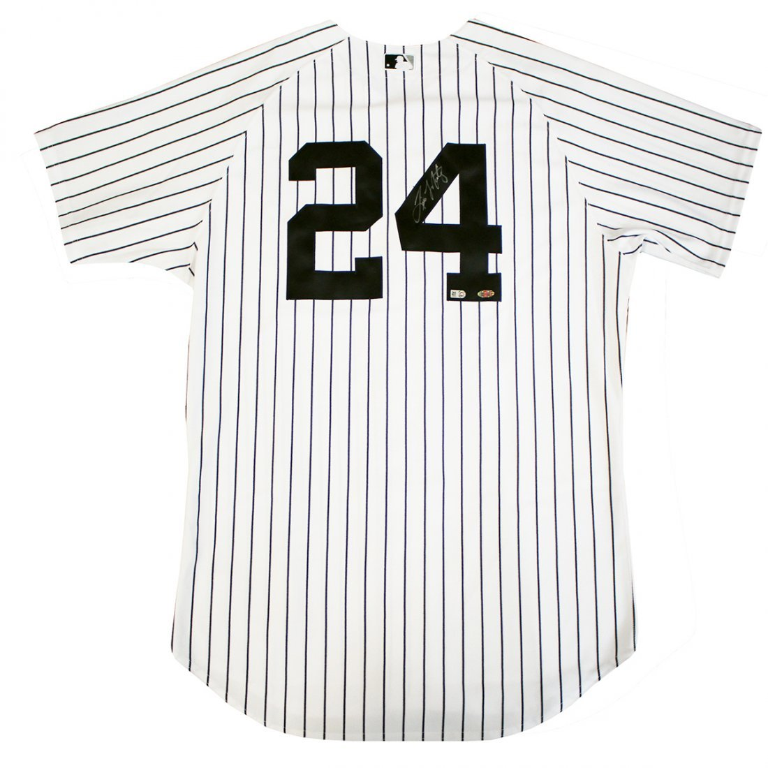 Tino Martinez Signed Authentic Pinstripe Yankees Jersey