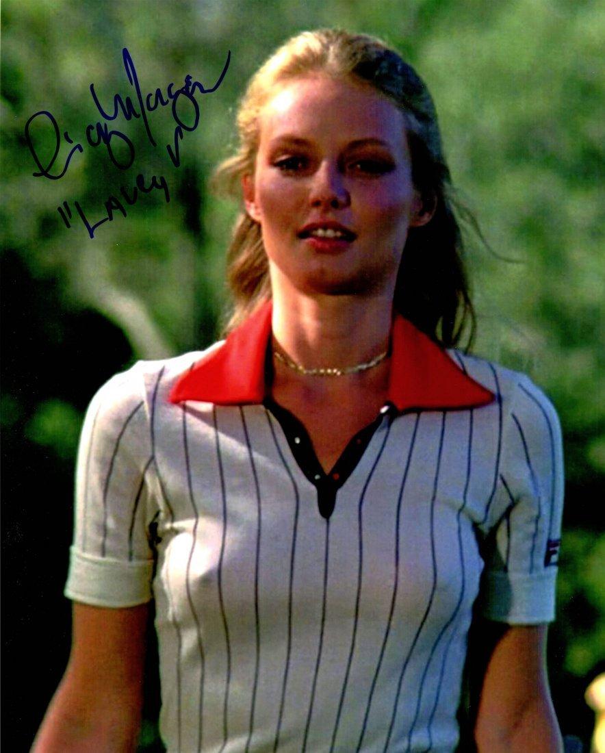 Cindy Morgan signed Caddyshack In White Golf Shirt 8x10