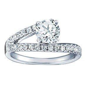 14K Gold 1.86 ctw Round Diamond Ring.  Brand New!   Fea