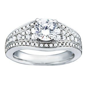 14K Gold 1.915 ctw Round Diamond Ring.  Brand New!   Fe