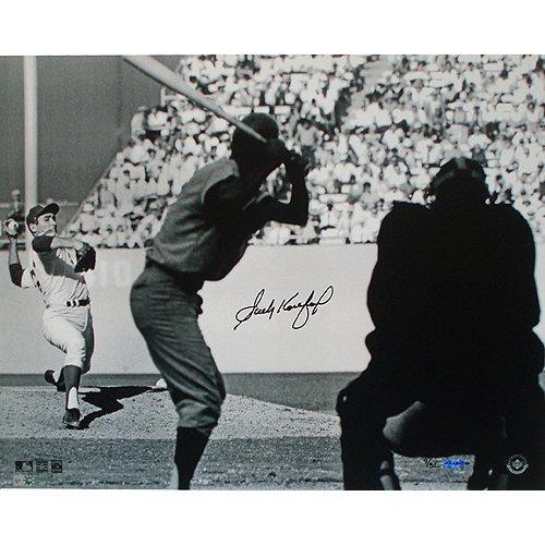 Sandy Koufax WS Pitching B&W 16x20 Photo LE 32 (UDA Aut