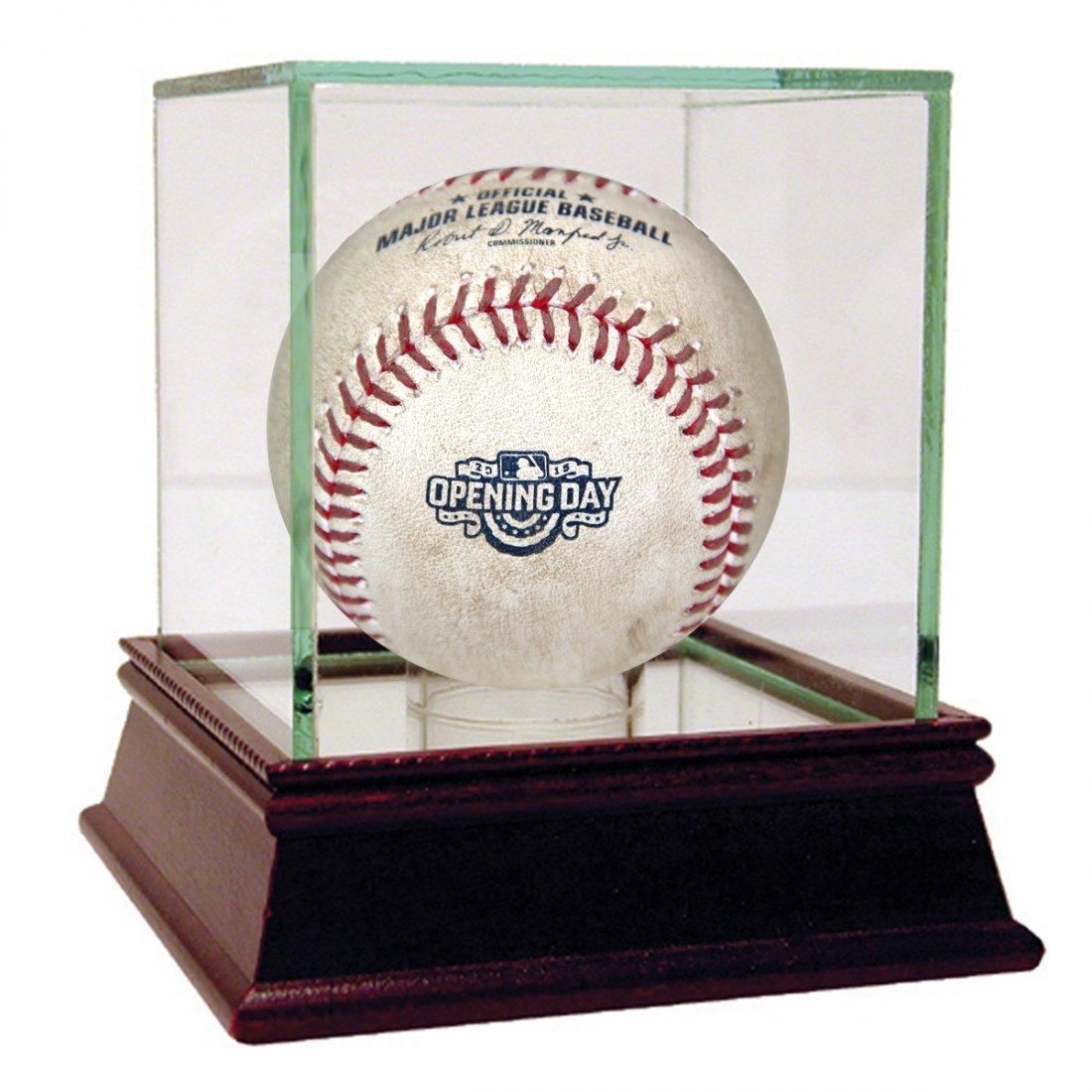Red Sox at Yankees 4-10-2015 Game Used Baseball (MLB Au