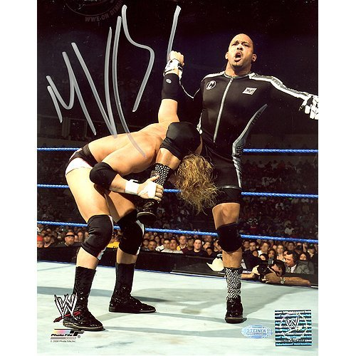 MVP WWE Action Vertical 8x10 Photo