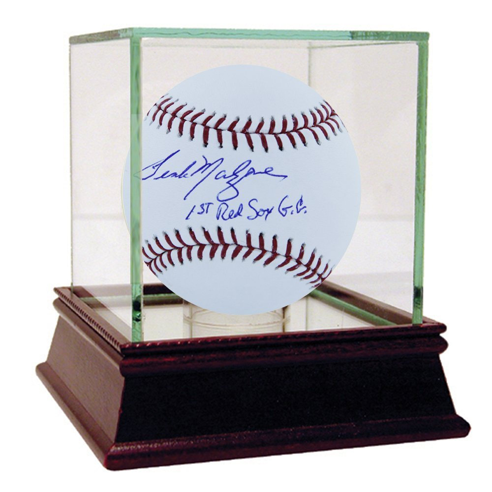 "Frank Malzone MLB Baseball w/"" 1st Red Sox G.G."" Insc"