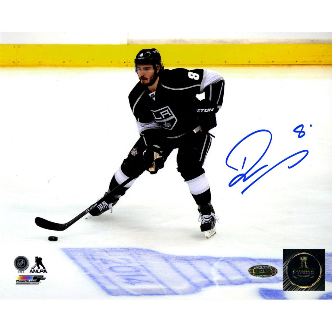 Drew Doughty Signed Los Angeles Kings Skating by 2014 S