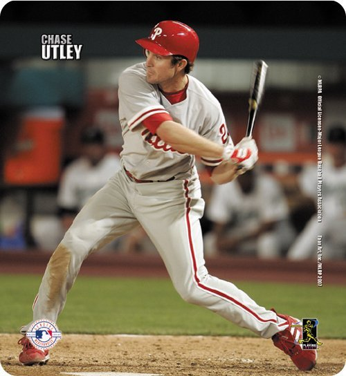 Chase Utley Action Mouse Pad