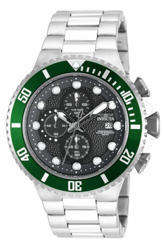 Invicta Men's 18908 Pro Diver Quartz Multifunction Gunm