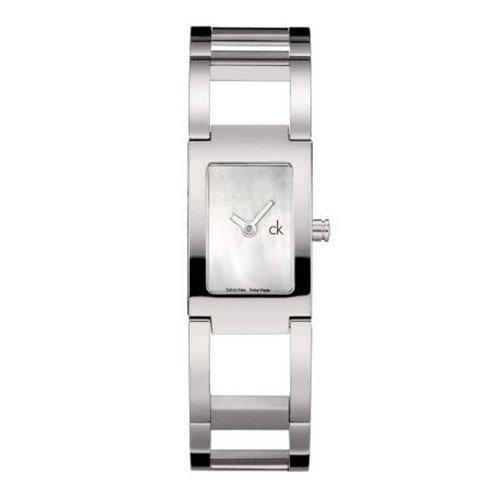 Stainless steel case, Stainless steel bracelet, White m