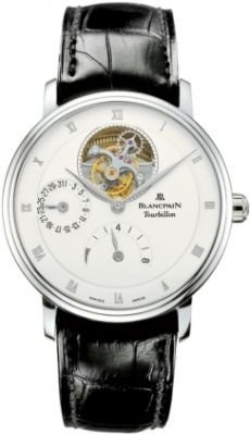 Blancpain Villeret Tourbillon 8 Day Power Reserve Men's